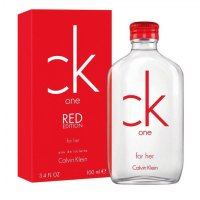 calvin klein CK ONE RED EDITION for her 100ml EDT